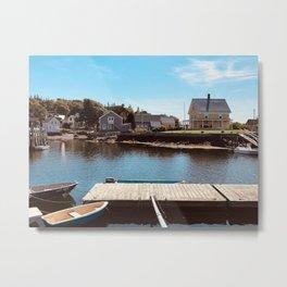 """Vinalhaven Island Landscape"" Photography Metal Print"