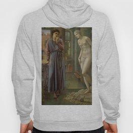 "Edward Burne-Jones ""Pygmalion and Galatea II: The Hand Refrains"" Hoody"