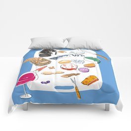 Cheese plate Comforters
