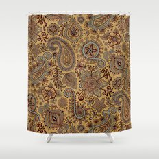 Cosmic Paisley Henna Shower Curtain