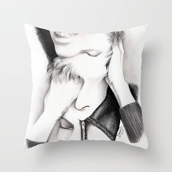 DECONSTRUCTION OF DAVID BOWIE  Throw Pillow