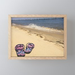 Where I'd rather be Framed Mini Art Print
