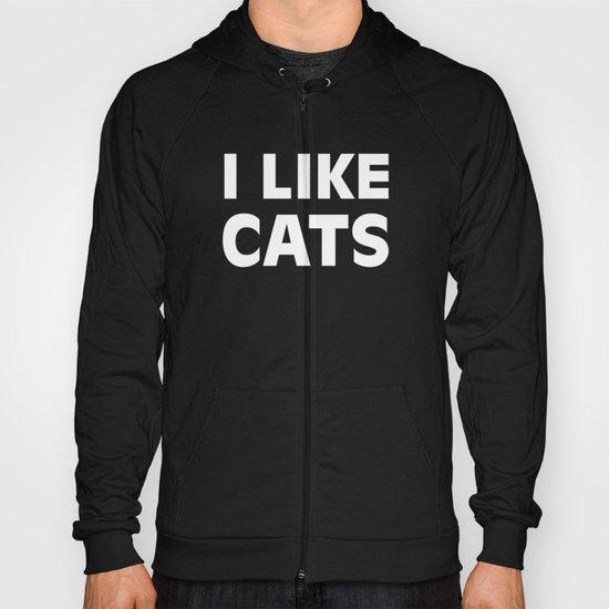 I Like Cats Hoody