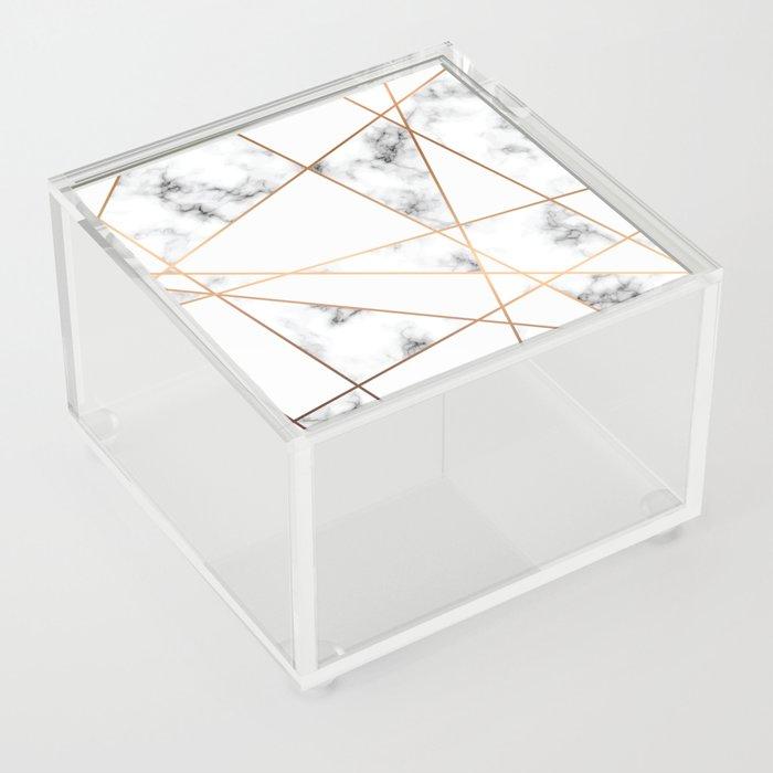 Marble Geometry 054 Acrylic Box