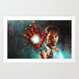 Light 'Em Up Art Print