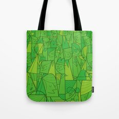 Citystreet (green version) Tote Bag