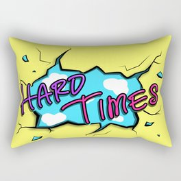 HARD TIMES Rectangular Pillow