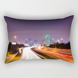 The Road to Dallas Rectangular Pillow