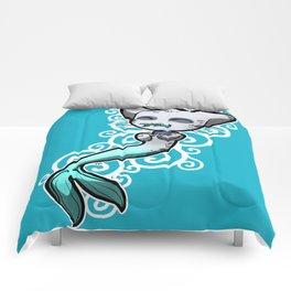 Zodiac Cats - Pisces Comforters