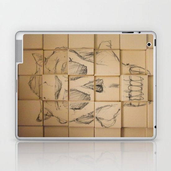 Space in Boxes Laptop & iPad Skin