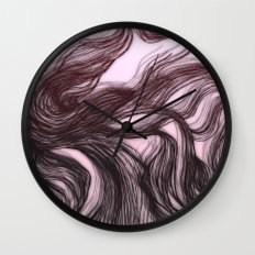 hair (1) Wall Clock