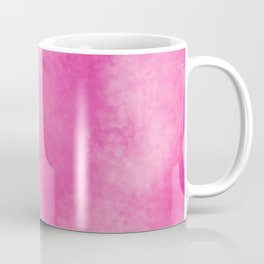 Abstract bright pink white hand painted watercolor Coffee Mug