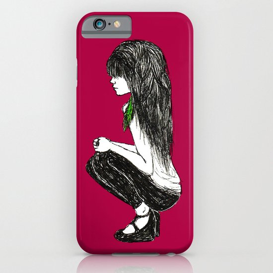 Feather Girl iPhone & iPod Case