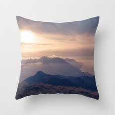 Autumn dusk Throw Pillow