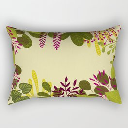 Belle plante Rectangular Pillow