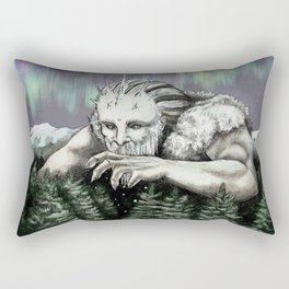 Frost Giant Rectangular Pillow