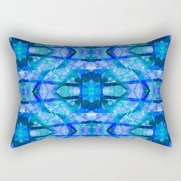 square waves Rectangular Pillow