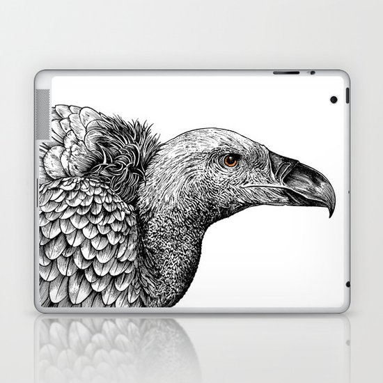 White-backed Vulture Laptop & iPad Skin