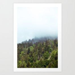 Whispering Forest Art Print