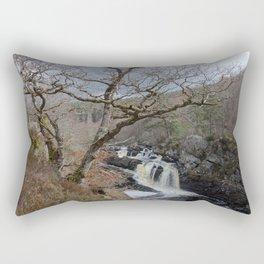Rogie Falls, Near Inverness, Scotland - Scottish Landscape Rectangular Pillow