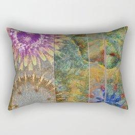 Rethank Weave Flower  ID:16165-002645-43931 Rectangular Pillow
