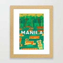 Baha Manila Framed Art Print