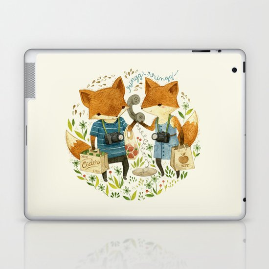 Fox Friends Laptop & iPad Skin