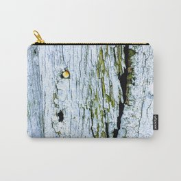 Weathered Barn Wall Wood Texture Carry-All Pouch