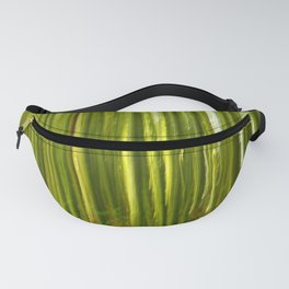 Nature bamboo abstract Fanny Pack