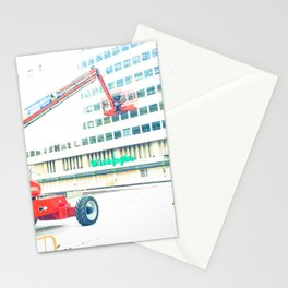 The Red Crane Stationery Cards