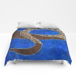 Creature of Water (the tentacle) Comforters