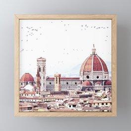 Brunelleschi's masterpiece Framed Mini Art Print