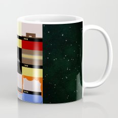 All Good Things - square Minimalist Star Trek TNG The Next Generation 1701 D  startrek  Trektangles Mug