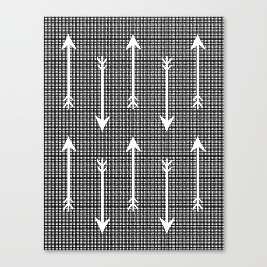 Arrow Sketch Canvas Print