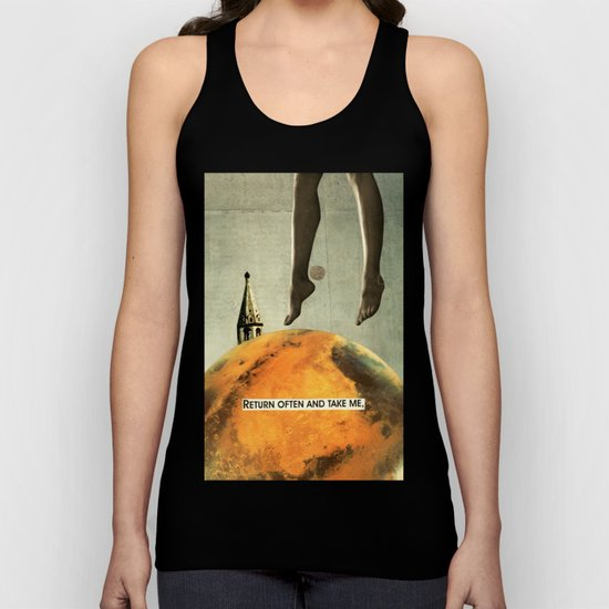 return often and take me Unisex Tank Top