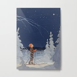 "Rudolf Koivu ""The Boy and the Star"" Metal Print"