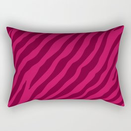 Tiger (Pink) Rectangular Pillow