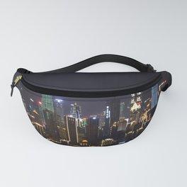 Chongqing China, Night Scene Fanny Pack