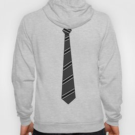 Business Casual Black Tie Hoody