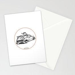 Crazy Car Art 0036 Stationery Cards