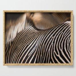 Zebra stripes Serving Tray