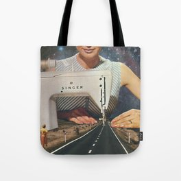 This is how a road gets made Tote Bag