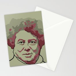 Alexandre Dumas Stationery Cards