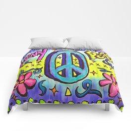 Groovy Peace Comforters