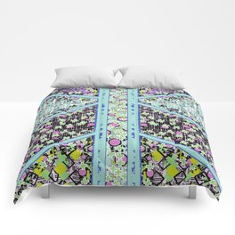 Geo Bright Comforters