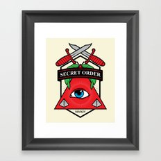Secret Order Framed Art Print