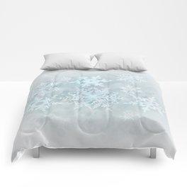 Snow is coming Comforters