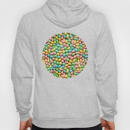 Mini Egg Milk Chocolate Easter Candy Pattern Hoody