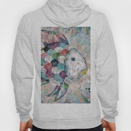 Rainbow Fish Collage Hoody