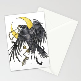 Raven Moon Stationery Cards